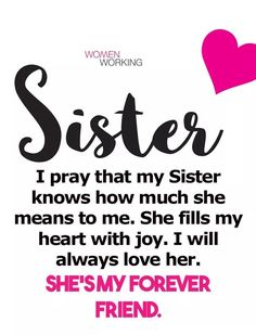 Sister Poems, Sister Quotes Funny, Funny Quotes, Heart Quotes, Happy Quotes, Positive Quotes, Life Quotes, Fathers Day Images Quotes, Family Quotes