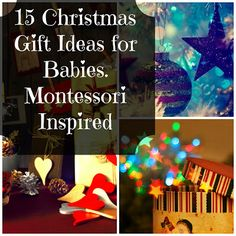 15 Christmas Gift Ideas for Babies, Montessori-inspired
