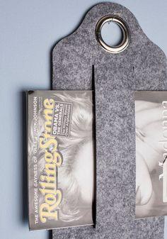 Got Ya Covered Hanging Magazine Holder, #ModCloth
