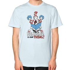 Read Across America Unisex T-Shirt (on man)