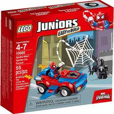 @Walmart $12.97 LEGO Juniors Spider-Man: Spider-Car Pursuit 10665