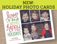holiday photo cards by Delphine for Cardstore.com