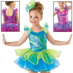 New Dance Skate Costume Tap Jazz Twirl Baton 4811 Ballet Child | eBay