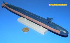 "US-U-Boot SSN-724 USS ""Louisville"" der Ohio-Klasse (Italeri 512)  1:700"