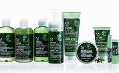 Kaikki Tea Tree (teepuu) tuotteet! Myös muut kuin Body Shopin.