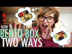 Bento Box How To: Chicken Wraps 2 Ways - Youtube Channel Bentos