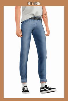 second star to the right sims 4 mm maxis match male jeans cc custom content clothing Sims 4 Men Clothing, Sims 4 Male Clothes, Clothes Swag, Men Clothes, Maxis, Sims 4 Cc Packs, Sims 4 Mm Cc, Sims 4 Jeans, Sims 4 Hair Male