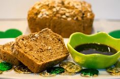 Perfect for St. Patrick's Day or any other day. This recipe for Irish Brown Bread with Guinness Reduction is straight from Raglan Road Restaurant.