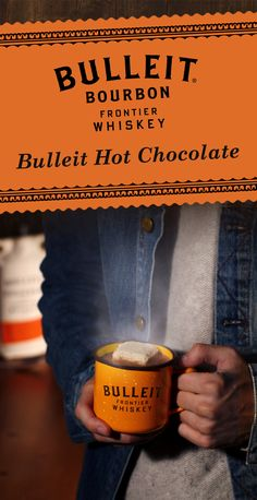 This winter, we've got our hands around a Bulleit Hot Chocolate. With Bulleit whiskey, chocolate, and artisanal marshmallows—this warm cocktail is perfect for the holiday season.