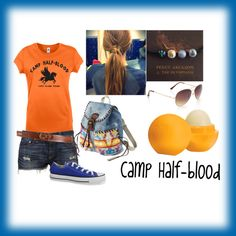 """""""Camp Half-blood"""" by amazingheart21 on Polyvore"""