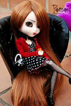 Divas--Pullip: Poison Blythe Dolls, Barbie Dolls, Gothic Dolls, Angelic Pretty, Anime Dolls, Gothic Art, Pretty Baby, Cute Dolls, Ball Jointed Dolls