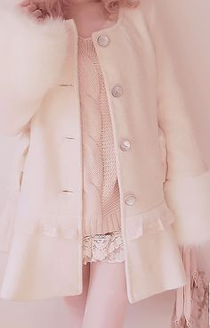 Pastel Pink for Fall - reminds me of my grandmother and her pink suits