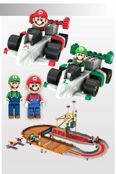 Mario and Luigi Starting Line Building Set  $59.99