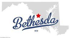 Bethesda Maryland y'all!!
