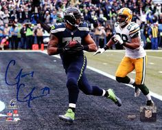 Garry Gilliam Autographed 8x10 Photo Seattle Seahawks - Gameday Sports & Memorabilia