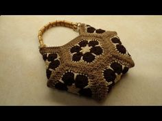 CROCHET How To #Crochet 13 square granny square Handbag Purse #TUTORIAL #163 LEARN CROCHET - YouTube
