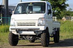 Mini 4x4, Suzuki Carry, Kei Car, Little Truck, Mini Trucks, Daihatsu, Car Humor, Pickup Trucks, Custom Cars