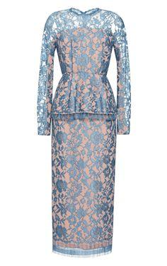 EMILIA WICKSTEAD N Dress With Peplum