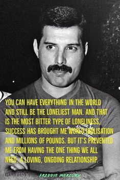23 best Freddie Mercury Quotes - Winspira Thank you for giving us a chance to serve you. ♥️♥️ 23 best Freddie Mercury Quotes - Winspira Thank you for giving us a chance to serve you. Queen Freddie Mercury, Freddie Mercury Quotes, Queen Band, New Quotes, Life Quotes, Inspirational Quotes, Heart Quotes, Motivational Quotes, Funny Quotes