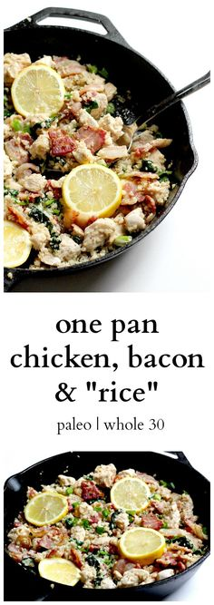 This one pan meal takes less than 30 minutes to make, includes protein and vegetables, and is extremely delicious! It's the perfect paleo and whole30 dinner.
