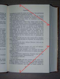 Comment utiliser les patrons de livres pliés