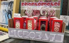 #busymom Microkath Flower Buttons by KB Jenson only @ FLCAM by Phantomoshop