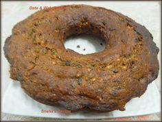 Date & Walnut Bundt#BundtBakers - Sneha's Recipe Fried Bananas, Pound Cakes, Fresh Apples, Carrot Cake, How To Make Cake, Homemaking, Oreo, Tube, Lunch