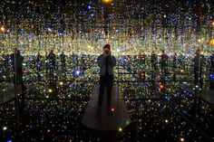 Infinity Mirrored Room By Yayoi Kusama Gives Visitors A Taste Of Space