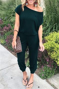 Spaghetti Cross Strap Lace Up Jumpsuits Summer Women V Neck Solid Casual Sleeveless Pockets Long Romper Size S Color 100251 Black One Shoulder Jumpsuit, Jumpsuit With Sleeves, Dress Pants, Trouser Pants, Long Jumpsuits, Jumpsuits For Women, Evening Jumpsuits, Rompers Women, Summer Work Outfits