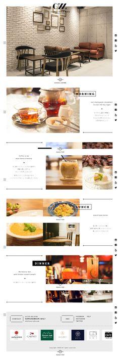 #caferestaurant-web-design #shop #1-column-layout #key-color-black #bg-color-white #Japanese #Flat-design #Slider