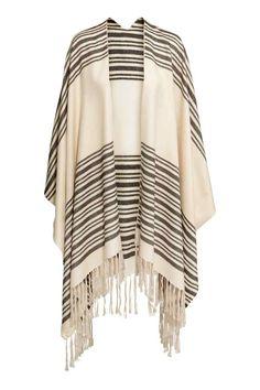 Bildresultat för h&m poncho striped