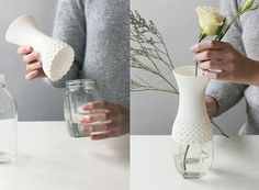 3d printed? Lace Vase — ACCESSORIES -- Better Living Through Design