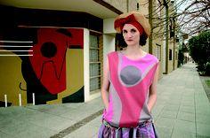 Foto de campaña de la colección SS 2007 Bajoflores.