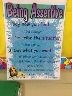 Assertive Vs Passive Vs Aggressive Chart