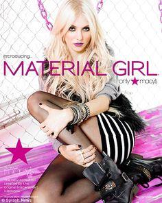 Taylor Momsen Material Girl Material Girls Madonna