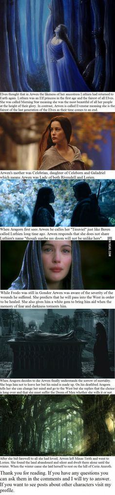6 Arwen facts you may not have known