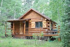 Stock Photography image of Log Cabin in the Woods stock photo . Small Log Cabin, Tiny Cabins, Tiny House Cabin, Little Cabin, Log Cabin Homes, Cabins And Cottages, Cozy Cabin, Log Cabins, Cabins In The Woods