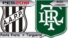 PES 2016  Ponte Preta x Targueral  [ Libertadores ]