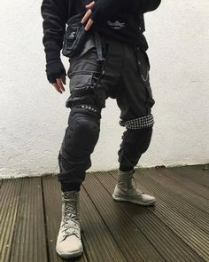 """mxdvs: """"MXDVS cargo pants Outfit by max """""""