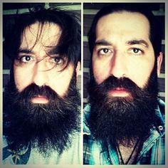 Before and after using Instigator Brand Beard Armor! #beardoil #beard #beards #beardgang #beardlove #beardsofinstagram #skull #mensfashion #bearded #beardedmen #mustache #envybeards #beardlife #FloridaKeys #Floridalife #Florida #pirate #sunshine #InstigatorBrandBeardArmor #ibbeardarmor #beach #Tampa #KeyWest #barbershop #girl #defendingyourbeardshonor