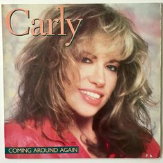 Carly Simon Coming Around Again LP Vinyl Record Album