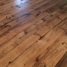 inexpensive flooring Inexpensive Wood Flooring Using Pine Boards - All You Need to Know - The House on Winchester Pine Wood Flooring, Pine Floors, Stone Flooring, Hardwood Floors, Flooring Ideas, Minwax Stain Colors, Floor Stain Colors, Pine Stain Colors, Stain On Pine