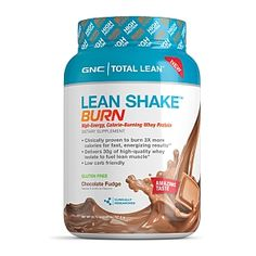 GNC Total Lean™ Lean Shake™ BURN - Chocolate Fudge. Pinning simply because I would like to try it