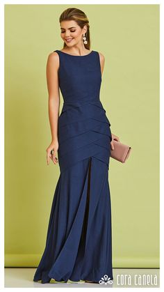 Frock Fashion, Party Fashion, Fashion Dresses, Allure Bridesmaid Dresses, Top Wedding Dresses, Simple Dresses, Pretty Dresses, Casual Dresses, Dinner Gowns