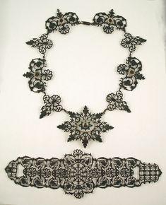 Berlin Iron jewelry by Siméon Pierre Devaranne