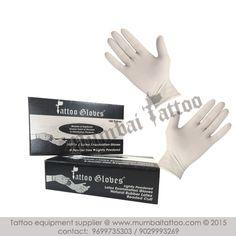 Gloves - Latex Lightly Powdered - white