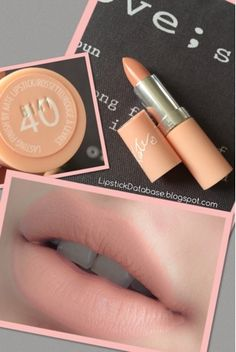 The Lipstick Database: Rimmel - Kate Moss Nudes Collection in 40