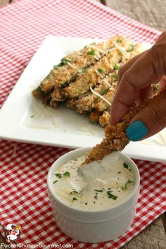 Fried Zucchini Stick