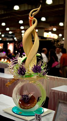 Sugar Showpiece created by Pastry Chef Salvatore Settepani.