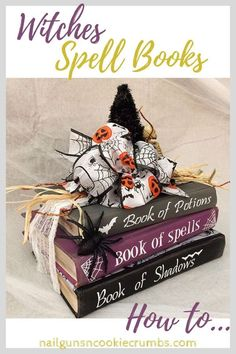 Witches Spell Books